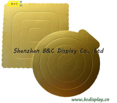 Gold small size round cake board