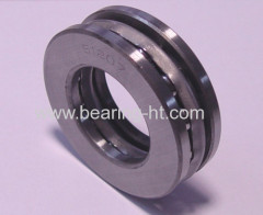 Cutting-edge technology thrust ball bearing with steel cage