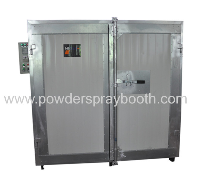 Electric powder coating curing oven from china for Paint curing oven