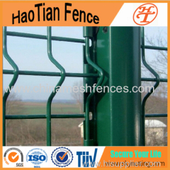 3D Curved Welded Steel Fence For Sales Made In China