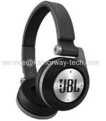 New Synchros E40BT High-Performance Wireless On-Ear Bluetooth Folding Stereo Headphones Black