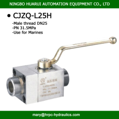 CJZQ QJZ 2 way carbon steel high pressure ball valve supplier