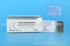 POLYDIOXANONE SUTURE WITH NEEDLE