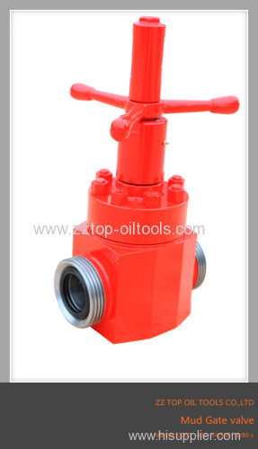 API6A MUD GATE VALVE HIGH PRESSURE FORGED AND CASTED