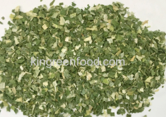 dehydrated spring onion flakes 5x5mm