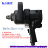"1"" twin hammer pistol type air impact wrench"