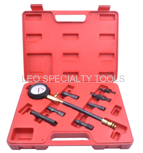 Auto Diagnostic Tools & 8 pcs Petrol engine compression tester kit