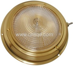 Brass Dome Light