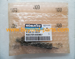 Komatsu excavator parts PC200-8 PC220-8 fuel injector 6754-11-3010