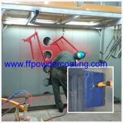 Powder Coating System Manuale Booth