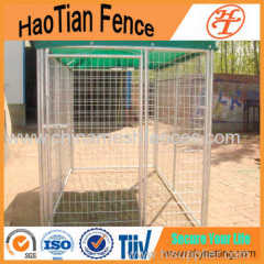 Galvanized or powder coating Outdoor Welded Dog Run Kennel
