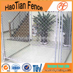 Galvanized And Powder Coating Chain Link Mesh Outdoor Dog Run Kennel
