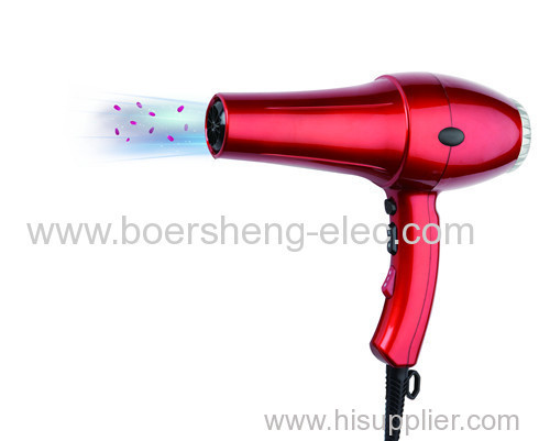 Unique Designed Model Hair Dryer with Strong Wind to Dry Hair Fastly and Keep Hair Glossy