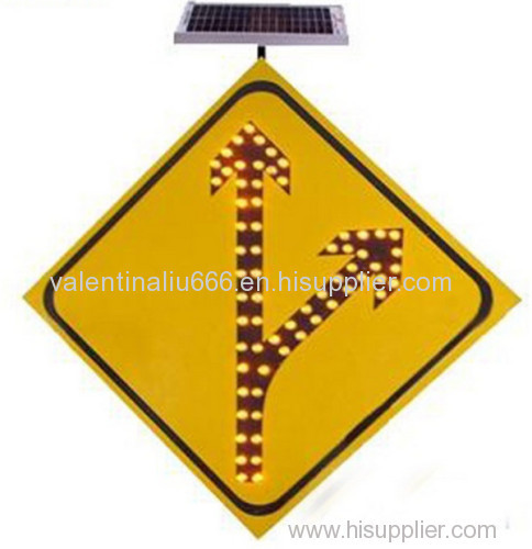 Highway safety led Solar traffic sign