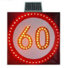 Solar LED Traffic Sign Board Speed-Limit and Warning Sign