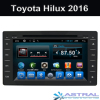Toyota Car Stereo System for Hilux 2016 Auto Radio Dvd Factory