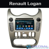 Quad Core Auto Dvd Player Renault Logan Car Multimedia Kitkat Systems Manufacture