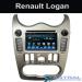 Quad Core Auto Dvd Player Renault Logan Car Multimedia Kitkat Systems Manufacture