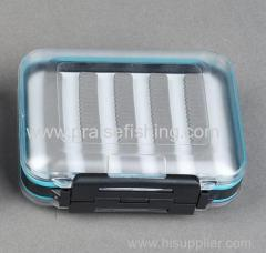Waterproof Outdoor clear plastic Fly fishing tackle box