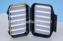 Fly Fishing box with slit foam Plastic Fishing tackle box