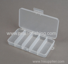 Transparent Clear Plastic Fishing Lure Fishing Tackle Box