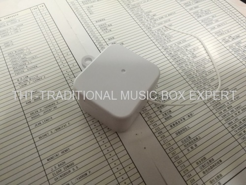CLASSICAL PULL STRING MUSIC BOX
