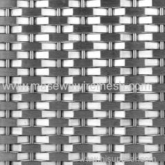 metal fabric for elevator wall