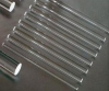 clear quartz glass rod