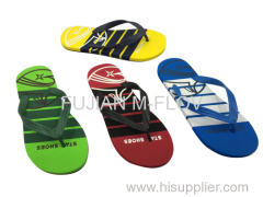 2016 PE/EVA flip flops/men flops/beach slippers