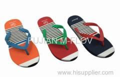 2016 EVA/PVC flip flops/men beach slippers