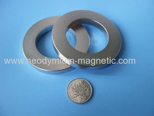 NdFeB35 Axially Magnetized Ni Coated magnet
