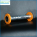 Twister spools for covering machine