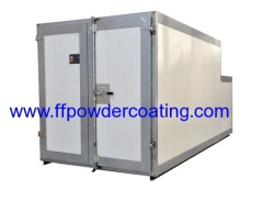 Gas fired Powder spray curing oven