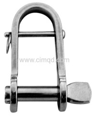 KEY-PIN-SHACKLE AISI304 FLAT WITH BAR