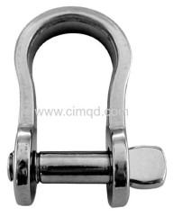 FLAT BOW SHACKLE AISI304