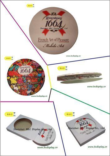 Food use absorbent paper coaster/cork coaster