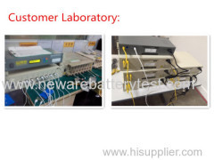 Battery charge and discharge testing system