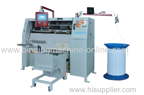 Newest automatic spiral wire forming and binding machine