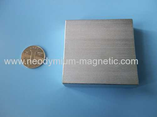 Permanent Ndfeb Magnetic separators magnet big block magnet