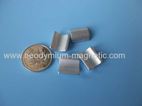 High quality Neodymium arc motor magnet