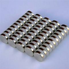 круглый диск с покрытием никеля спеченные неодимовый NdFeB магниты N42