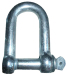 Steel Commercial Dee shackle