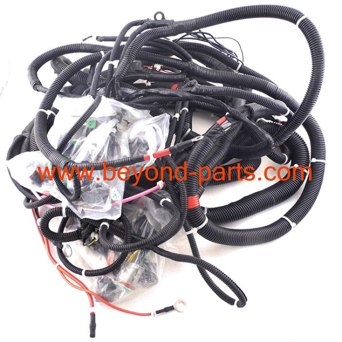 150458562511 komatsu excavator wiring harness pc200 7 main wire harness 20y 06 Largest Komatsu Excavator at couponss.co