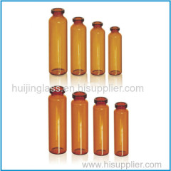 pharmaceutical tubular oral liquid glass vial