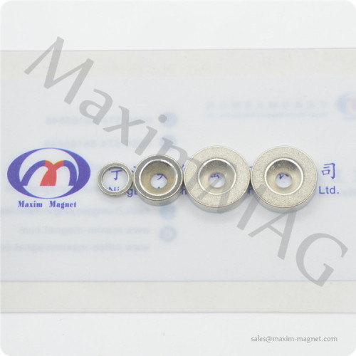 Round magnets neodymium with hole