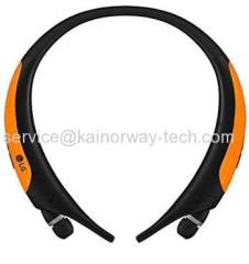 LG Tone Active HBS-850 Neckband Premium Bluetooth Stereo Headsets Black Orange