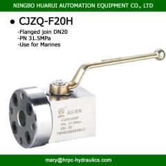 marine flange ball valve