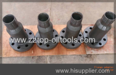 "Oilfied Wellhead Flange Adapter 2"" 1502 WECO"