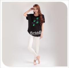 Apparel & Fashion T-shirt YUSON Women's Eco-fabric Short Sleeve Blouse For Summer