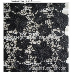 Floral Embroidery Designs Lace Fabrics (S8124)